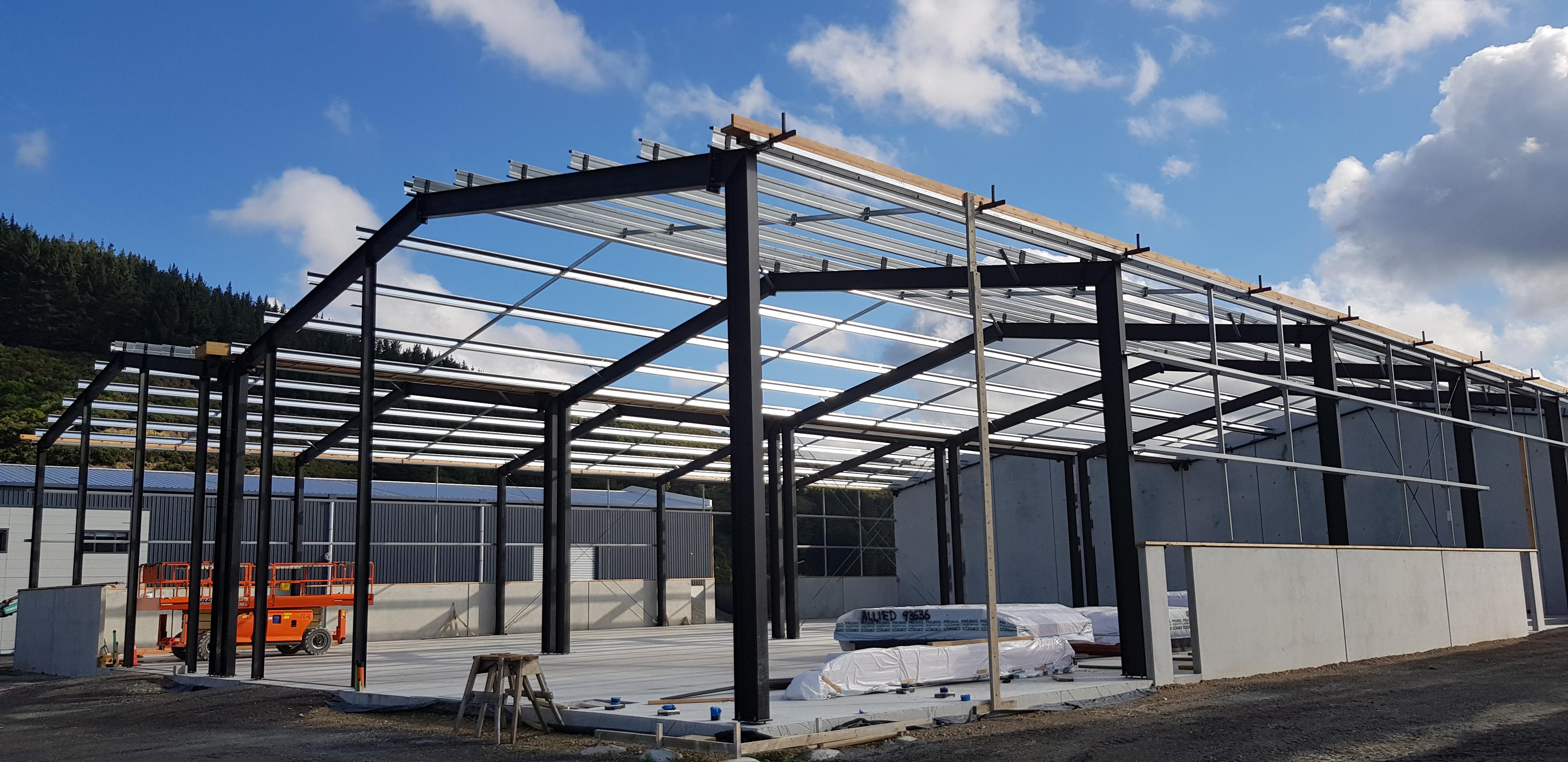 Proforce steel fibre concrete slab warehouse
